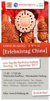 """""""Erlebnistag China"""" zum Tag der Konfuzius-Institute"""