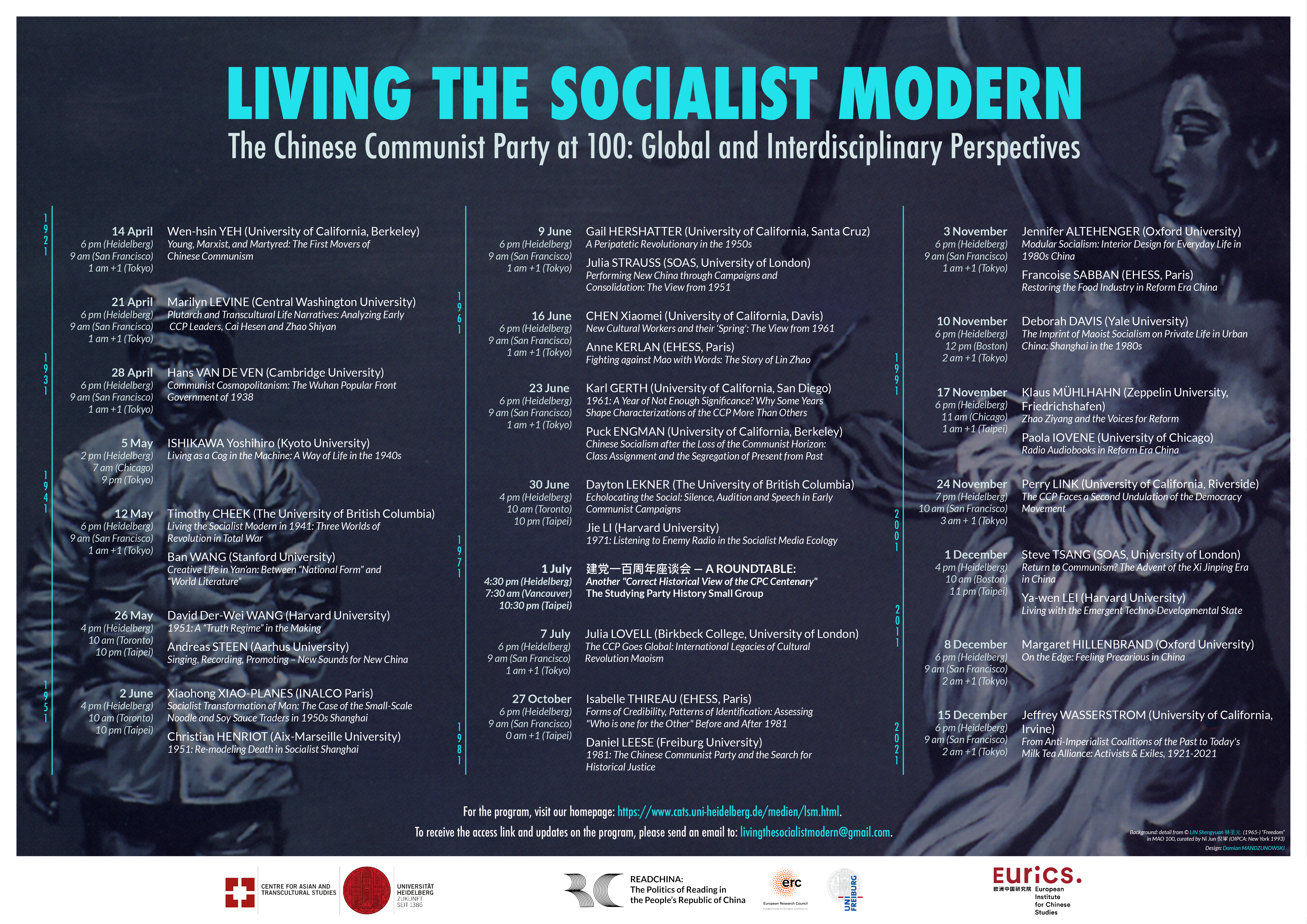 Virtual Lecture Series: Living the Socialist Modern